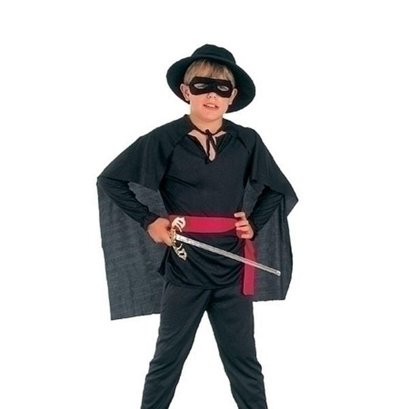 Boys Bandit Budget |Medium| Childrens Costumes Male Medium 7 9 Years Halloween Costume - Boys Costumes Mad Fancy Dress