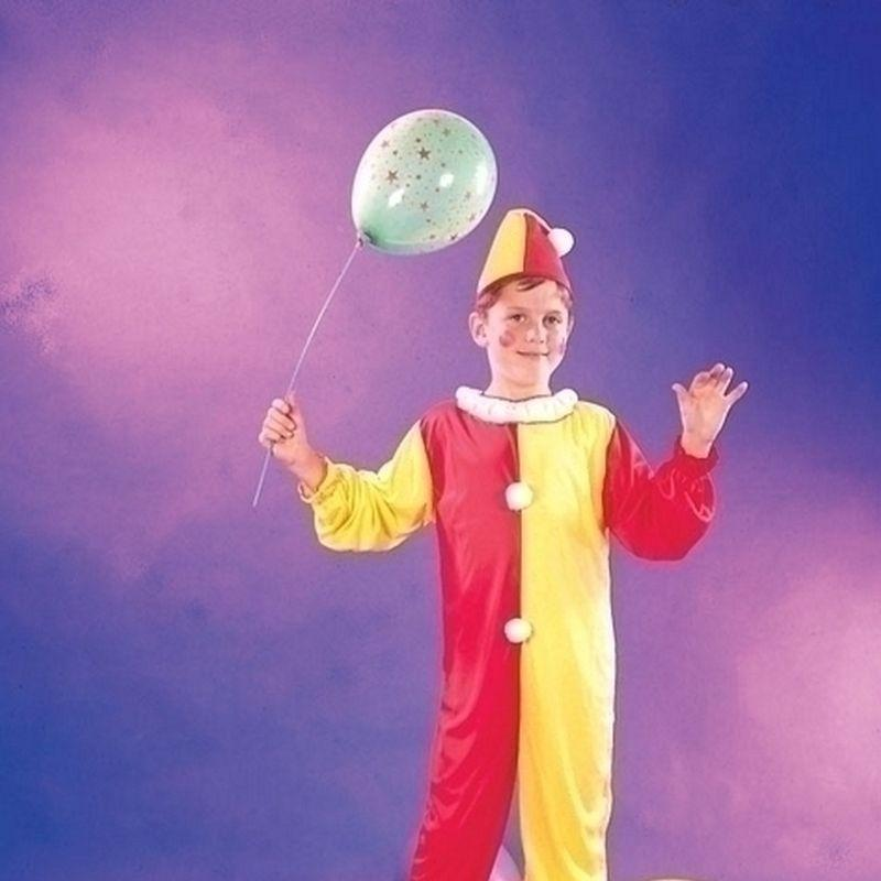 Clown |Small| Childrens Costumes Unisex Small 5 7 Years - Boys Costumes Mad Fancy Dress