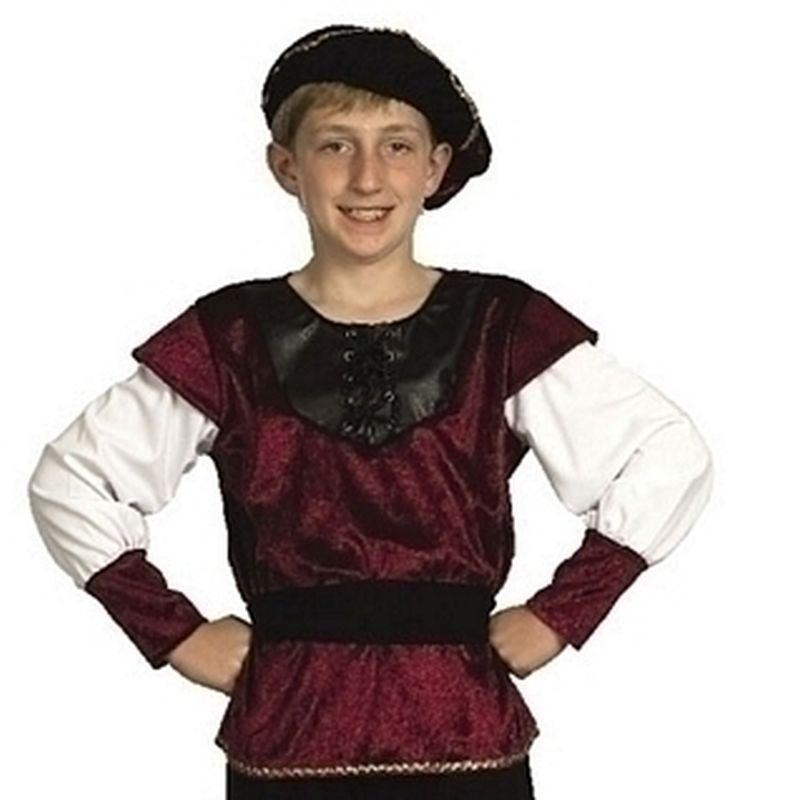 Boys Renaissance Prince |Medium| Childrens Costumes Male Medium 7 9 Years Halloween Costume - Boys Costumes Mad Fancy Dress