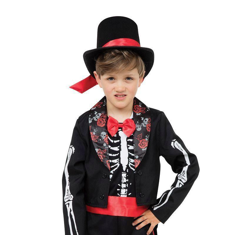 Day Of The Dead Boy |M| |Childrens Costumes| Male Medium - Boys Costumes Mad Fancy Dress
