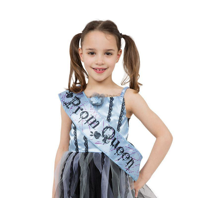 Bloody Prom Queen |M| |Childrens Costumes| To Fit Child Of Height 122Cm 134Cm - Girls Costumes Mad Fancy Dress