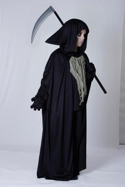 Reaper Medium Childrens Fancy Dress Costume Boys Medium 7 9 years Black