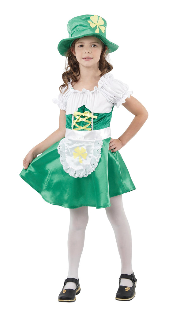 Leprechaun Girl Large 9 12 years Green