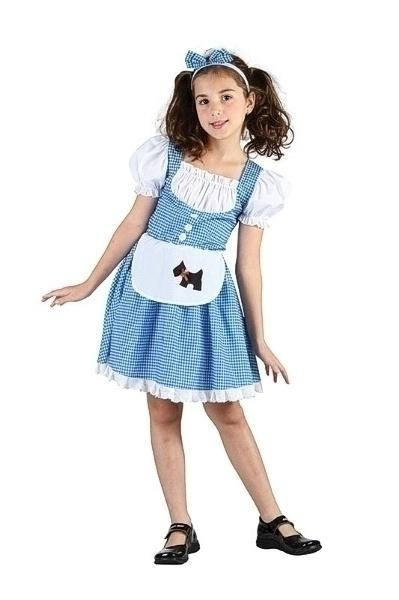 Fairy Tale Girl XL Children's Costumes Girls 158cm Blue white