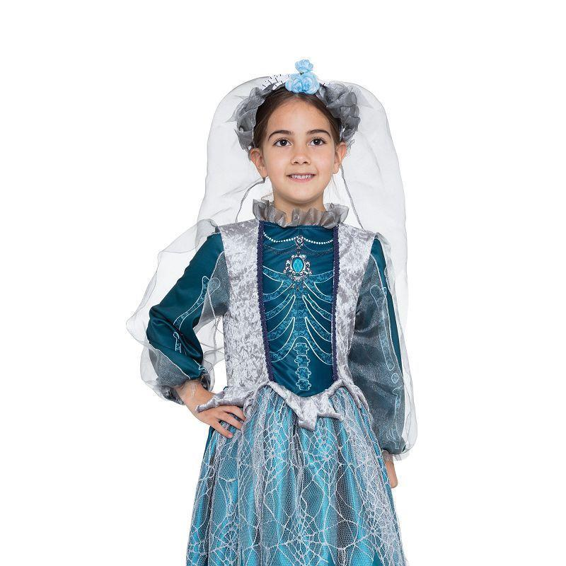 Skeleton Queen |S| |Childrens Costumes| Female Small - Girls Costumes Mad Fancy Dress
