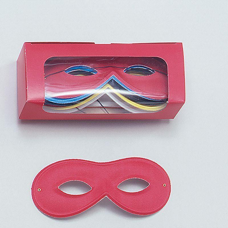 Small Rayon Eye Mask Asstd |Eye Masks| Unisex One Size - Eye Masks Mad Fancy Dress