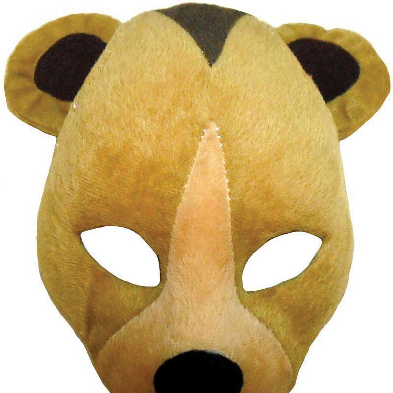 Bear Mask On Headband + Sound |Eye Masks| Unisex One Size - Eye Masks Mad Fancy Dress