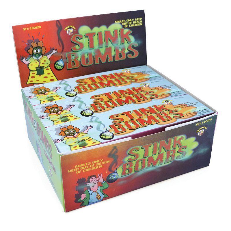 Stink Bombs |Now From Chile| |General Jokes| Unisex Dozen - Practical Jokes Mad Fancy Dress