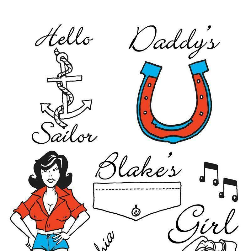 Amy Winehouse Theme Tattoos |General Jokes| Unisex 10 Cards - Practical Jokes Mad Fancy Dress