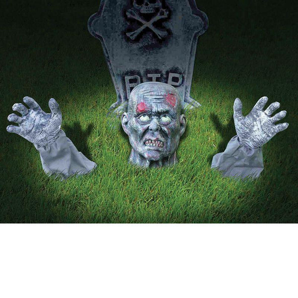Zombie Ground Breaker Outdoor Decoration |Halloween Items| Unisex One Size - Halloween Costumes And Accessories Mad Fancy Dress