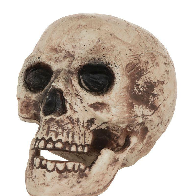 Skull Large |Halloween Items| Unisex One Size - Halloween Costumes And Accessories Mad Fancy Dress