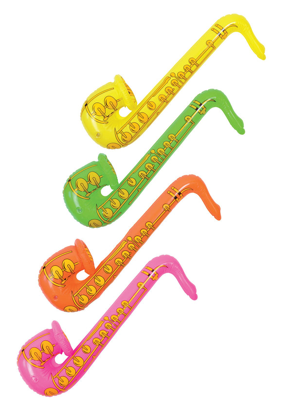 "Inflatable Saxaphone 33 Inflatable Items 33 Yellow"",Inflatable"
