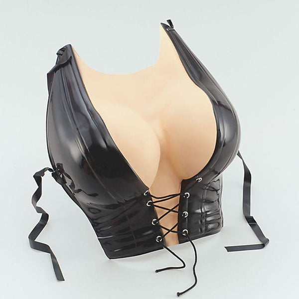 Pamela Anderson Chest & Basque |Miscellaneous Disguises| Unisex One Size - Miscellaneous Disguises Mad Fancy Dress