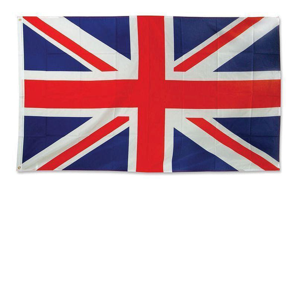 Union Jack Flag 3Ft X 5Ft Cloth |Party Goods| Unisex 3 X 5 - Party Supplies Mad Fancy Dress