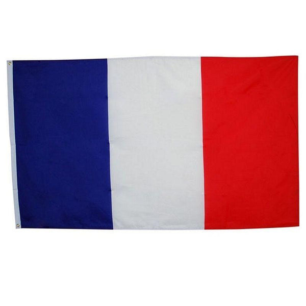 French Flag 3Ft X 5Ft Cloth |Party Goods| Unisex 3 X 5 - Party Supplies Mad Fancy Dress