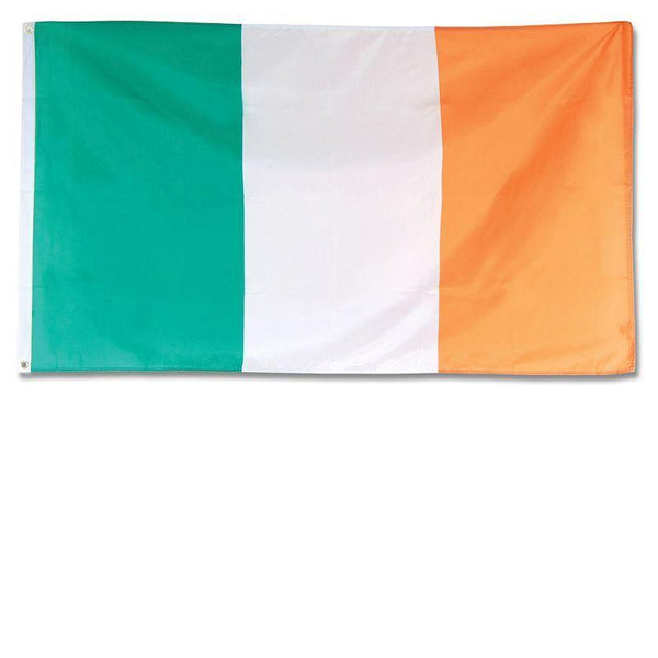Irish Flag 3Ft X 5Ft Cloth |Party Goods| Unisex 3 X 5 - Party Supplies Mad Fancy Dress