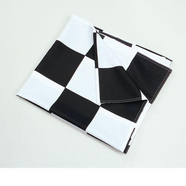 Chequered Flag Black/white 3 X 5 |Party Goods| Unisex 3 X 5 - Party Supplies Mad Fancy Dress