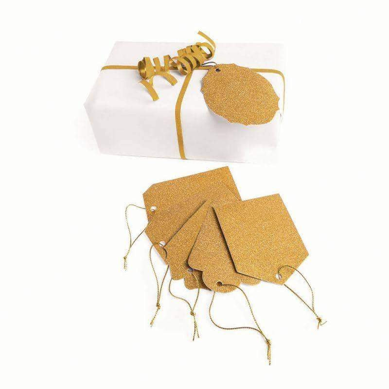 Gift Tags Diamond Gold