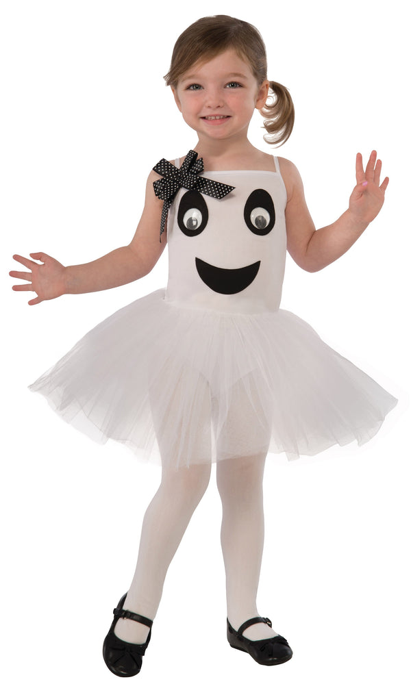 Bootiful Ballerina Ghost Toddler Childrens Costumes Female Toddler