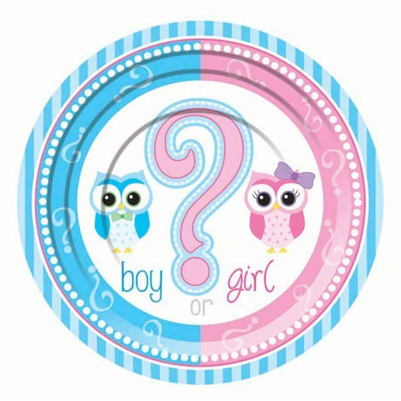 Gender Reveal Small Plate