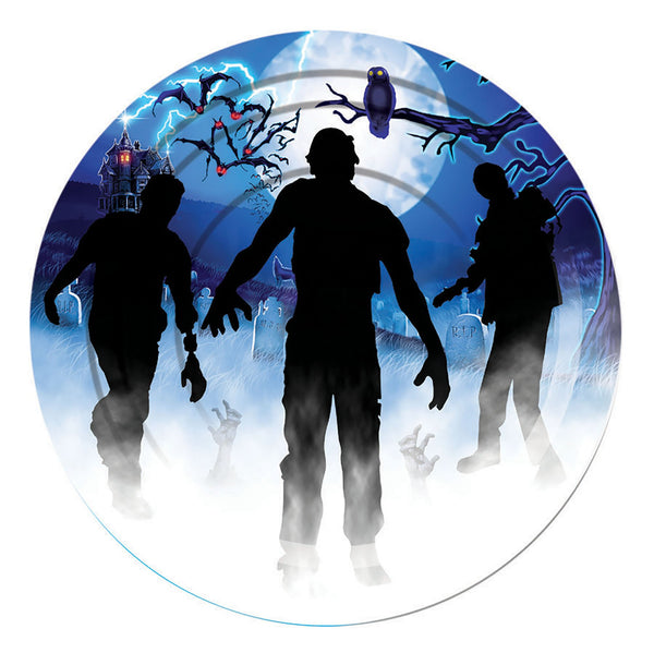 Zombie Small Plate 8pc Party Goods One Size Fits Most
