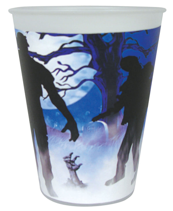 Zombie Cup 9oz 8pc Party Goods One Size Fits Most