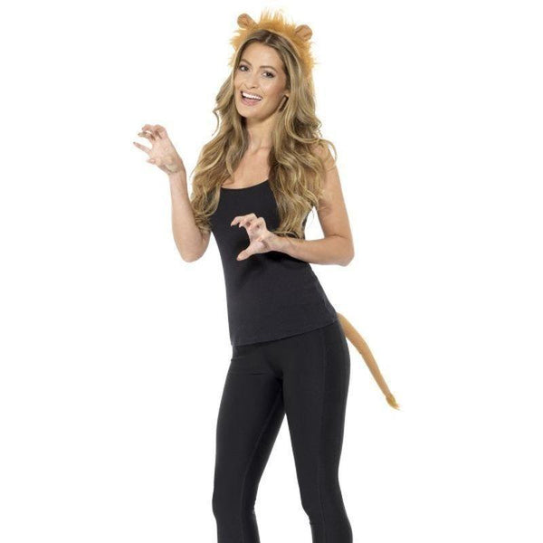 Adult Lion Kit Adult Brown - Adult Animal Mad Fancy Dress
