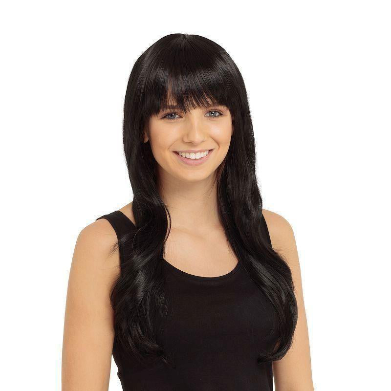 Alexandra Wig Black |Wigs| Female One Size - Wigs Mad Fancy Dress