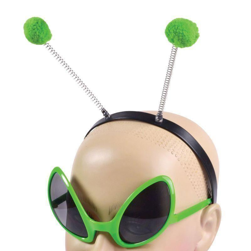Alien Set |Glasses + Headband| |Instant Disguises| Unisex One Size - Instant Disguises Mad Fancy Dress