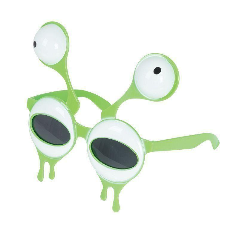 Alien Style Glasses |Costume Accessories| One Size Fits Most - Costume Accessories Mad Fancy Dress