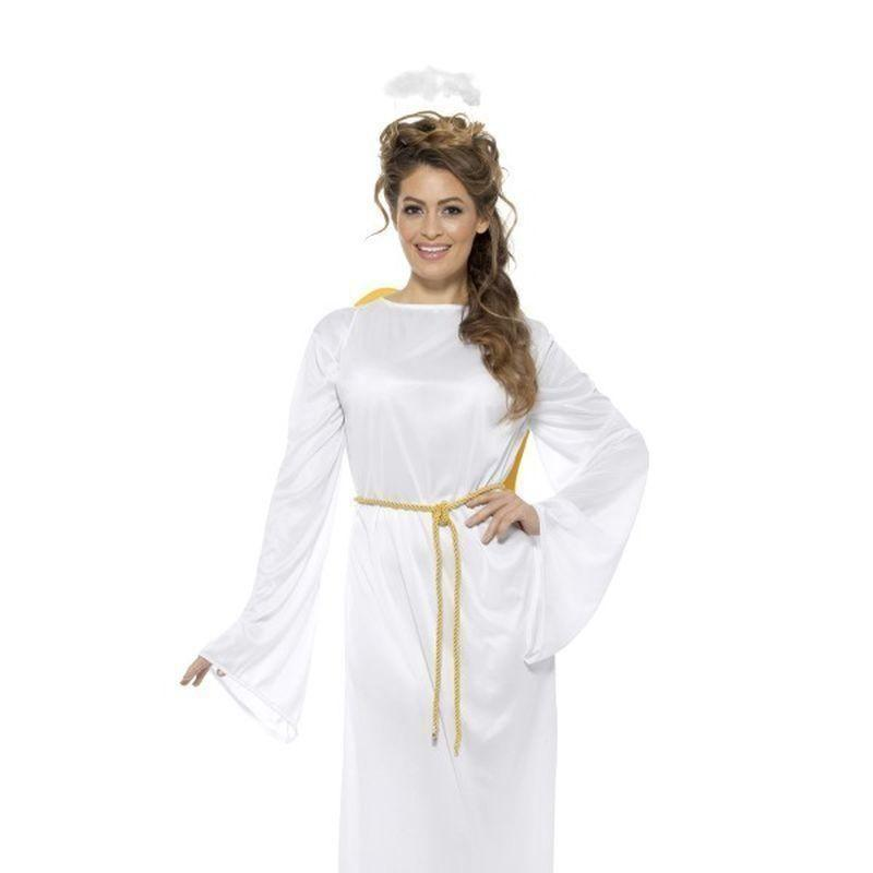 Angel Gabriel Costume Unisex Adult White - Christmas Costumes For Men Mad Fancy Dress
