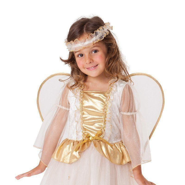 Angel Toddler |Childrens Costumes| Female To Fit Child Of Height 90Cm 100Cm - Girls Costumes Mad Fancy Dress