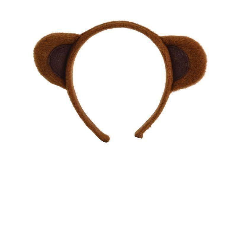 Animal Ears Brown |Miscellaneous Disguises| Unisex One Size - Miscellaneous Disguises Mad Fancy Dress