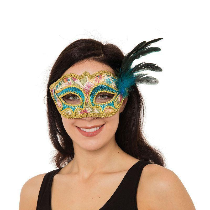 Antoinette Mask |Eye Masks| Female One Size - Eye Masks Mad Fancy Dress