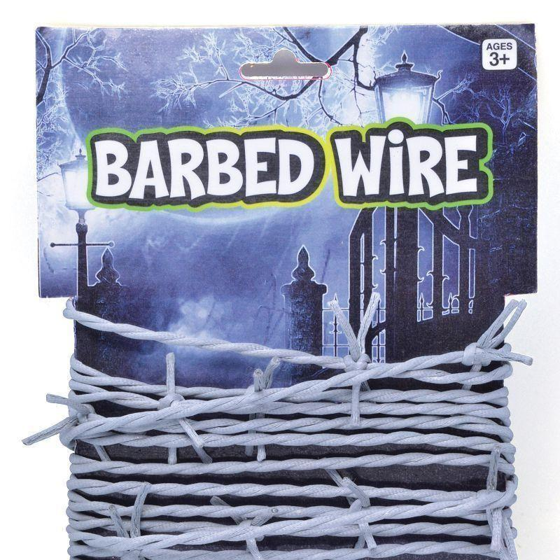 Barbed Wire Carded |Costume Accessories| Unisex One Size - Costume Accessories Mad Fancy Dress