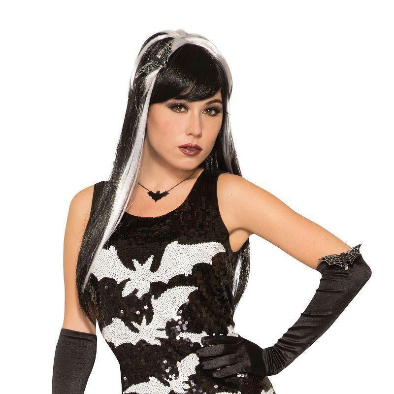 Bat Sequin Dress M/l |Adult Costumes| Uk Size 10 14 - Generic Ladies Costumes Mad Fancy Dress