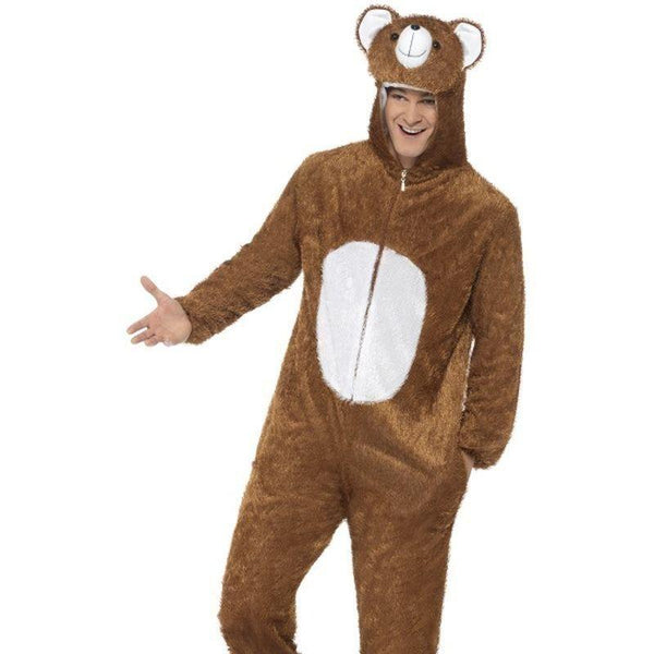 Bear Costume Adult Brown - Adult Animal Mad Fancy Dress