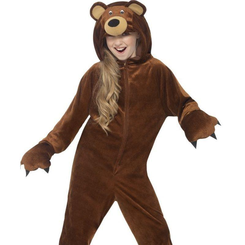 Bear Costume Kids Brown - Boys Costumes Mad Fancy Dress