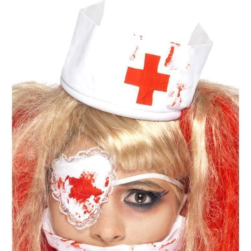 Bloody Nurse Kit Adult White - Halloween Zombie Alley Kidz Mad Fancy Dress