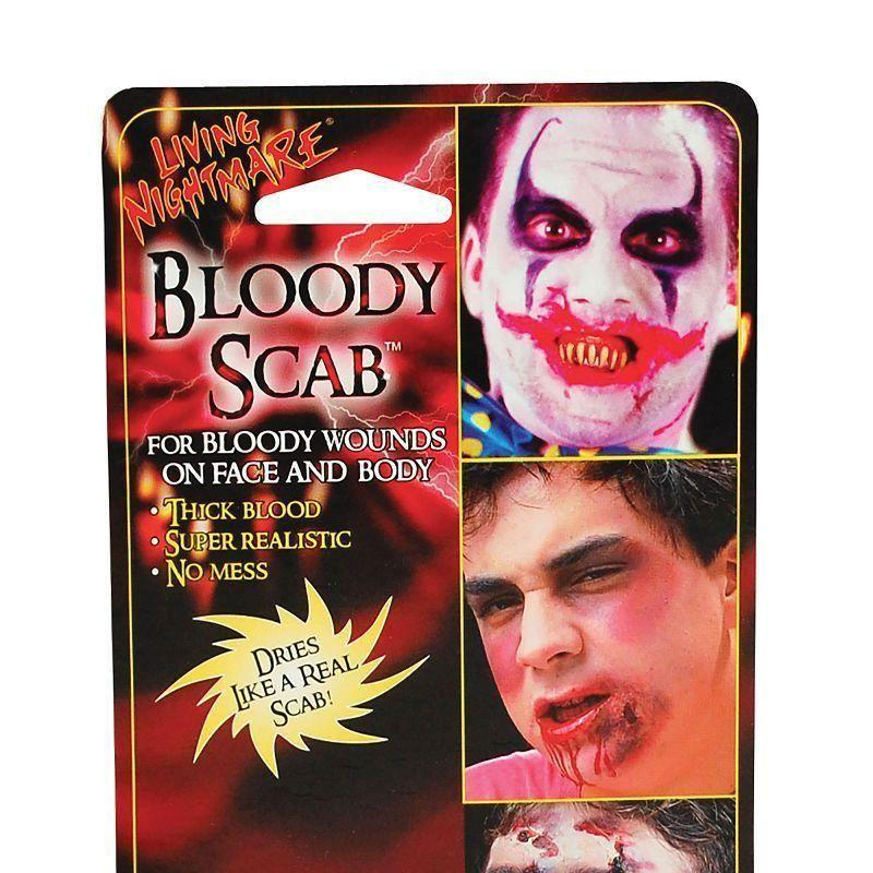 Bloody Scab Make Up Kit |Make Up| Unisex 1 Oz - Make Up Mad Fancy Dress