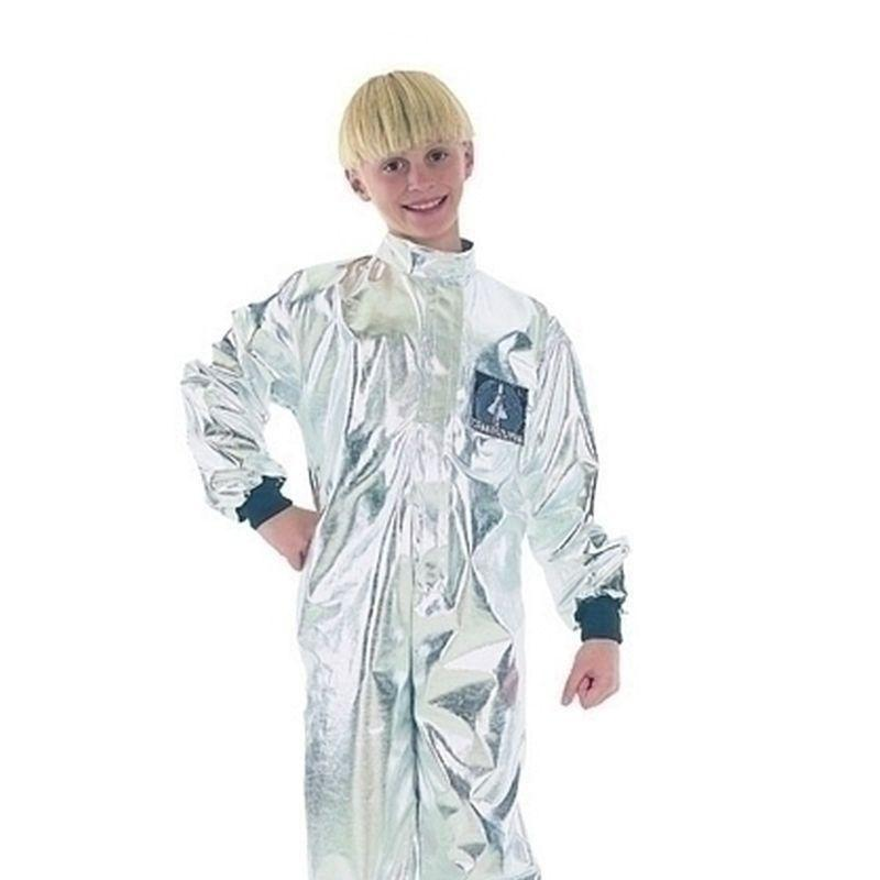 Boys Astronaut |Small| Budget Childrens Costumes Male Small 5 7 Years Halloween Costume - Boys Costumes Mad Fancy Dress