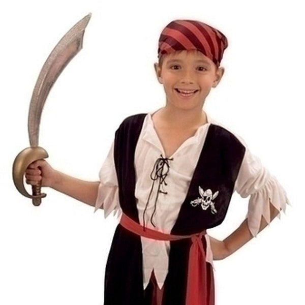 Boys Pirate Boy Jim |Small| Childrens Costumes Male Small 5 7 Years Halloween Costume - Boys Costumes Mad Fancy Dress