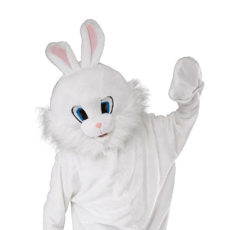 Bunny Mascot Adult Costume Unisex One Size - Generic Unisex Costumes Mad Fancy Dress