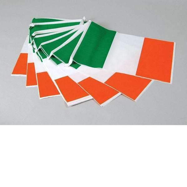 Bunting Ireland 7M 25 Flags |Party Goods| Unisex 7M - Party Supplies Mad Fancy Dress