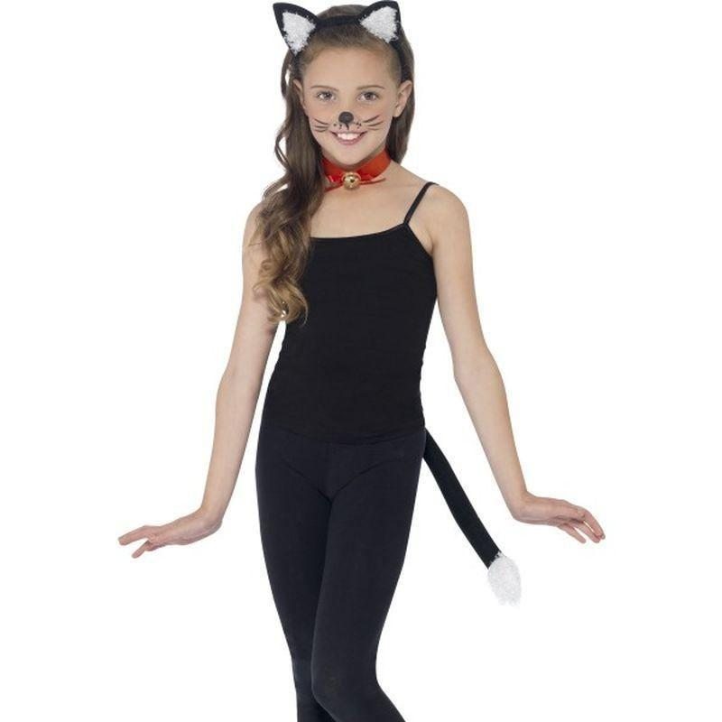 Cat Kit Kids Black - Childrens Animal Costumes Mad Fancy Dress
