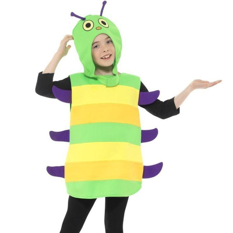 Caterpillar Costume Kids Green - Childrens Animal Costumes Mad Fancy Dress