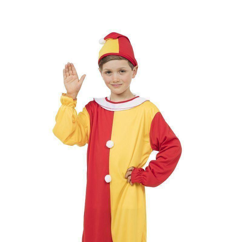 Clown |Large| Childrens Costumes Unisex Large 9 12 Years - Boys Costumes Mad Fancy Dress