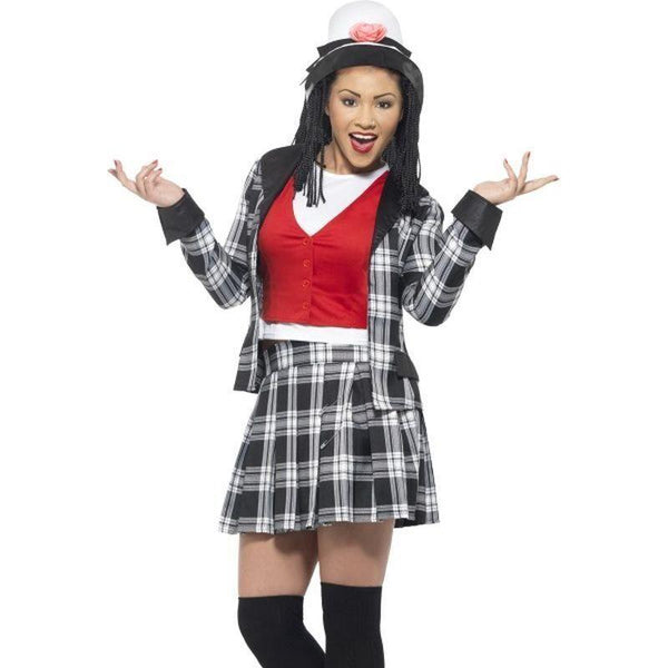 Clueless Dionne Costume Adult Black - Clueless Licensed Fancy Dress Mad Fancy Dress