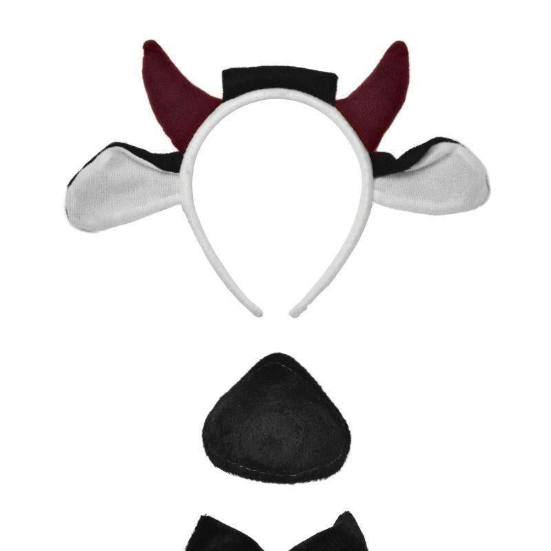 Cow Set + Sound |Instant Disguises| Unisex One Size - Instant Disguises Mad Fancy Dress