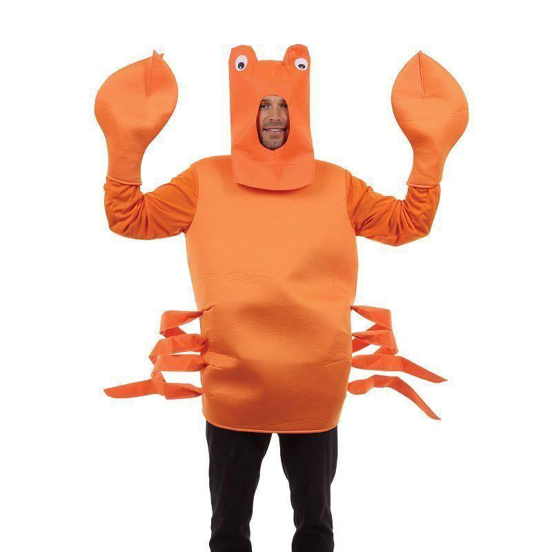 Crab Costume |Adult Costumes| Male One Size - Generic Mens Costumes Mad Fancy Dress